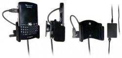 Support voiture  Brodit BlackBerry 8800  installation fixe - Avec rotule, connectique Molex. Chargeur 2A. Surface &quot