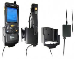 Support voiture  Brodit Motorola MC70  installation fixe - Avec rotule, connectique Molex pour le GPS et le transfert de données. Pour le module de TSL. Chargeur 2A. Pour appareil avec batterie standard et étendu. Réf 971741