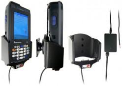 Support voiture  Brodit Intermec CN3  installation fixe - Avec rotule, connectique Molex. Chargeur 2A. Réf 971742