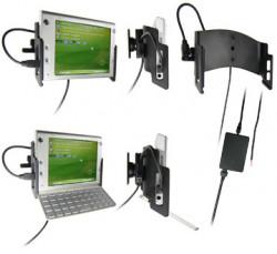 Support voiture  Brodit HTC Advantage X7500  installation fixe - Avec rotule, connectique Molex. Chargeur 2A. Peut être utilisé avec ou sans clavier. Réf 971743