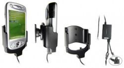 Support voiture  Brodit HTC P6300  installation fixe - Avec rotule, connectique Molex. Chargeur 2A. Réf 971745