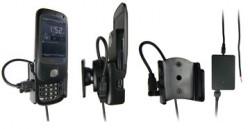 Support voiture  Brodit HTC P5520  installation fixe - Avec rotule, connectique Molex. Chargeur 2A. Car, une position ouverte verticale. Réf 971774