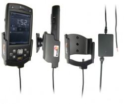 Support voiture  Brodit HTC P6500  installation fixe - Avec rotule, connectique Molex. Chargeur 2A. Réf 971775