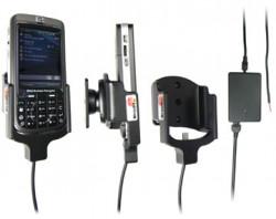 Support voiture  Brodit HP iPAQ 600 Series Business Navigator  installation fixe - Avec rotule, connectique Molex. Chargeur 2A. Uniquement pour batterie standard. Réf 971776