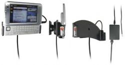 Support voiture  Brodit Nokia N810  installation fixe - Avec rotule, connectique Molex. Chargeur 2A. Pour une position ouverte horizontale. Réf 971786