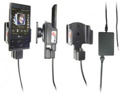 Support voiture  Brodit HTC P3700  installation fixe - Avec rotule, connectique Molex. Chargeur 2A. Pour S270 batterie standard 900 mAh. Réf 971843