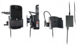 Support voiture  Brodit BlackBerry Bold 9000  installation fixe - Avec rotule, connectique Molex. Chargeur 2A. Réf 971850