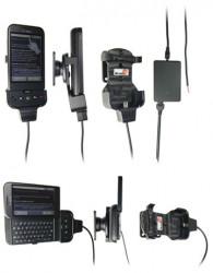 Support voiture  Brodit HTC Dream  installation fixe - Avec rotule, connectique Molex. Chargeur 2A. Réf 971868