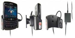 Support voiture  Brodit BlackBerry Curve 8900  installation fixe - Avec rotule, connectique Molex. Chargeur 2A. Réf 971886