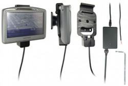 Support voiture  Brodit TomTom GO 520  renforcé - Avec câble droit pour une installation fixe. 12/24 Volt, 2 Un chargeur. Avec la clé Torx. Réf 276015
