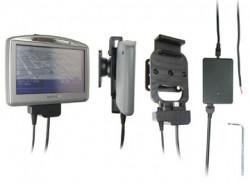 Support voiture  Brodit TomTom GO 520 T  renforcé - Avec câble droit pour une installation fixe. 12/24 Volt, 2 Un chargeur. Avec la clé Torx. Réf 276016