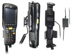 Support voiture  Brodit Motorola MC9500  installation fixe - Pour une installation fixe, avec système de connecteur Molex. Chargeur 2A. Pour appareil avec batterie standard et étendu. Réf 513156