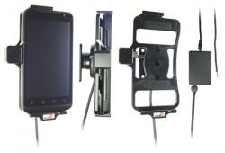 Support voiture  Brodit LG Revolution  installation fixe - Avec rotule, connectique Molex. Chargeur 2A. Réf 513275