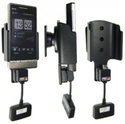 Support 3 en 1  Brodit HTC Touch Diamond 2 T5353  3 en 1 - 3 cm de câble adaptateur. Réf 519011
