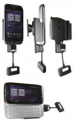 Support 3 en 1  Brodit HTC Touch Pro2  3 en 1 - 3 cm de câble adaptateur. NON aux modèles de T-Mobile USA, Sprint, Verizon. Réf 519021