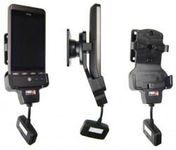 Support 3 en 1  Brodit HTC Hero  3 en 1 - 3 cm de câble adaptateur. Réf 519038