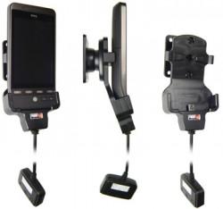 Support 3 en 1  Brodit HTC Hero  3 en 1 - 40 cm de câble adaptateur. Réf 520038