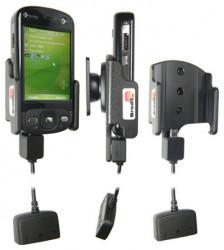 Support 3 en 1  Brodit HTC P3600  3 en 1 - 40 cm de câble adaptateur. Réf 843715