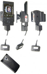 Support 3 en 1  Brodit HTC P3700  3 en 1 - 40 cm de câble adaptateur. Pour E270 batterie étendue 1 340 mAh. Réf 843873