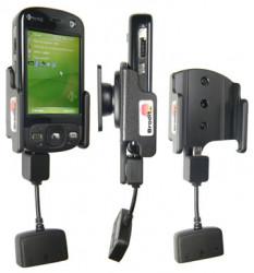 Support 3 en 1  Brodit HTC P3600  3 en 1 - 3 cm de câble adaptateur. Réf 849715