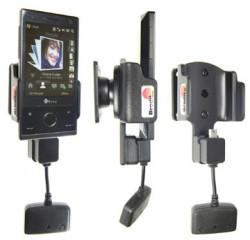 Support 3 en 1  Brodit HTC P3700  3 en 1 - 3 cm de câble adaptateur. Pour S270 batterie standard 900 mAh. Réf 849843