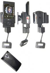 Support 3 en 1  Brodit HTC P3700  3 en 1 - 3 cm de câble adaptateur. Pour E270 batterie étendue 1 340 mAh. Réf 849873