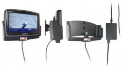 Support voiture  Brodit TomTom XL Live IQ Route  avec réplicateur de port - Support actif pour une installation fixe. Avec rotule. 12/24 Volt. Réf 518030