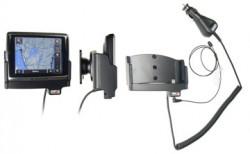 Support voiture  Brodit Navigon 2400  avec chargeur allume cigare - Avec rotule. Grâce à la connectivité TMC, antenne TMC inclus. 12/24 Volt. Réf 528118