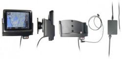 Support voiture  Brodit Navigon 2400  installation fixe - Avec rotule. Grâce à la connectivité TMC, antenne TMC inclus. 12/24 Volt. Réf 529118