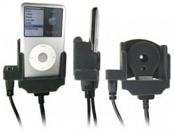 Support voiture  Brodit Apple iPod 3rd Generation 10 GB  pour fixation cable - Pour Volvo câble avec connecteur USB (réf. 31210067). Avec revêtement &quot