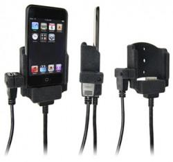 Support voiture  Brodit Apple iPod Touch  pour fixation cable - Pour Volvo câble avec connecteur USB (réf. 31210067). Surface &quot