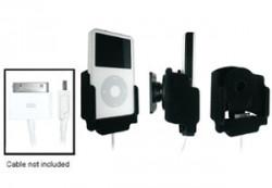 Support voiture  Brodit Apple iPod 2nd Generation 20 GB  pour fixation cable - Pour le câble d'origine, le câble Dock câble et Griffin PowerJolt de Neo ProLink. Surface &quot