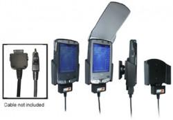 Support voiture  Brodit HP iPAQ hx21xx  pour fixation cable - Pour GPS-câble ou Sync- / de données / chargement-câble. Réf 846630