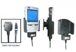Support voiture  Brodit HP iPAQ hw65xx  pour fixation cable - Pour GPS-câble ou Sync- / de données / chargement-câble. Uniquement pour batterie standard. Réf 846639