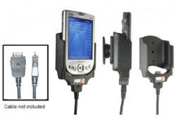 Support voiture  Brodit HP iPAQ h41xx  pour fixation cable - Pour GPS-câble ou Sync- / de données / chargement-câble. Réf 847591