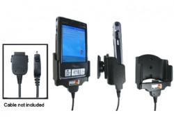 Support voiture  Brodit Fujitsu-Siemens Pocket Loox 700-series  pour fixation cable - Pour GPS-câble ou Sync- / de données / chargement-câble. Réf 847608