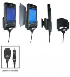 Support voiture  Brodit HP iPAQ hx47xx  pour fixation cable - Pour GPS-câble ou Sync- / de données / chargement-câble. Réf 847621