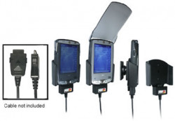 Support voiture  Brodit HP iPAQ hx21xx  pour fixation cable - Pour GPS-câble ou Sync- / de données / chargement-câble. Réf 847630