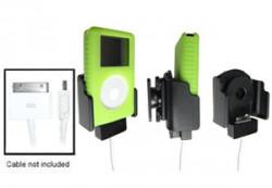Support voiture  Brodit Apple iPod 2nd Generation 20 GB  pour fixation cable - Réglable en Larg et en profondeur. Pour appareil avec et sans étui. Pour le câble original et câble Dock Neo ProLink de. Réf 848693
