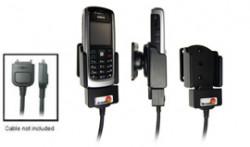 Support voiture  Brodit Nokia 6021  pour fixation cable - Pour le câble Nokia CA-27, CA-76 (inclus dans le kit mains libres CK7W, CK-20W). Réf 905021