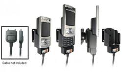 Support voiture  Brodit Nokia N80  pour fixation cable - Pour le câble Nokia CA-27, CA-76 (inclus dans le kit mains libres CK7W, CK-20W). Réf 905087