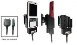Support voiture  Brodit Nokia N73  pour fixation cable - Pour le câble Nokia CA-27, CA-76 (inclus dans le kit mains libres CK7W, CK-20W). Réf 905120