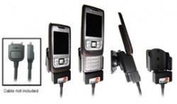 Support voiture  Brodit Nokia E65  pour fixation cable - Pour le câble Nokia CA-27, CA-76 (inclus dans le kit mains libres CK-7W, CK-20W). Réf 905147