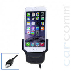 Support voiture iPhone 6 avec connectique USB
