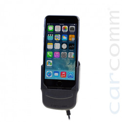 Support voiture iPhone 6 avec option amplification GSM - compatible camion 24 volts