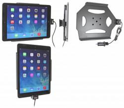 Support voiture  Brodit Apple iPad Air  avec chargeur allume cigare - Avec chargeur voiture USB. Chargeur approuvé par Apple. Avec rotule. Réf 521577
