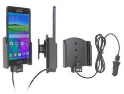 Support voiture  Brodit Samsung Galaxy A5  avec chargeur allume cigare - Avec chargeur voiture USB. Avec rotule. Réf 521713