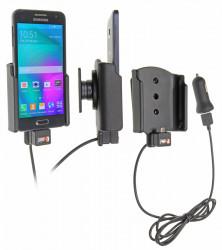 Support voiture  Brodit Samsung Galaxy A3  avec chargeur allume cigare - Avec chargeur voiture USB. Avec rotule. Réf 521715