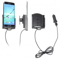 Support voiture  Brodit Samsung Galaxy S6 edge  avec chargeur allume cigare - Avec chargeur voiture USB. Avec rotule. Réf 521731