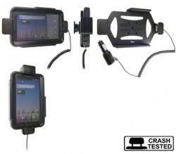 Support voiture  Brodit Samsung Galaxy Tab GT-P1000  sécurisé - Avec câble allume-cigare. Avec rotule. Avec verrouillage renforcé Pour  étui Otterbox Defender (non livré). Réf 546261